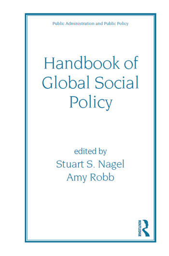 Handbook of Global Social Policy book cover