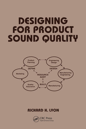 Designing for Product Sound Quality book cover