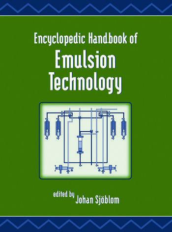 Encyclopedic Handbook of Emulsion Technology book cover