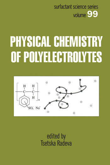 Physical Chemistry of Polyelectrolytes book cover
