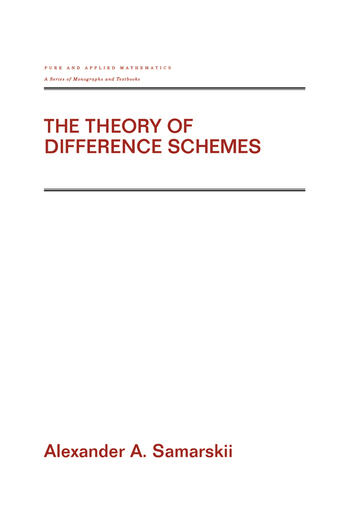 The Theory of Difference Schemes book cover