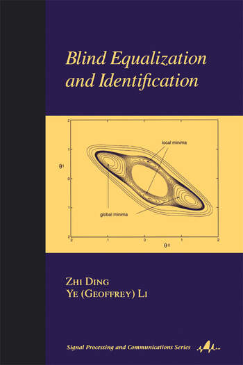 Blind Equalization and Identification book cover