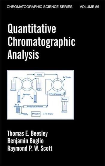 Quantitative Chromatographic Analysis book cover