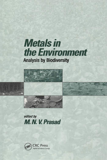 Metals in the Environment Analysis by Biodiversity book cover