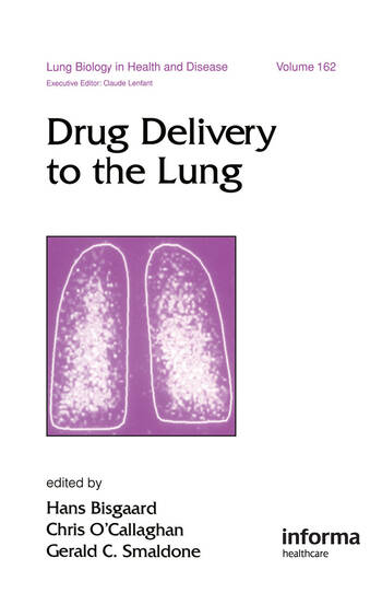 Drug Delivery to the Lung book cover