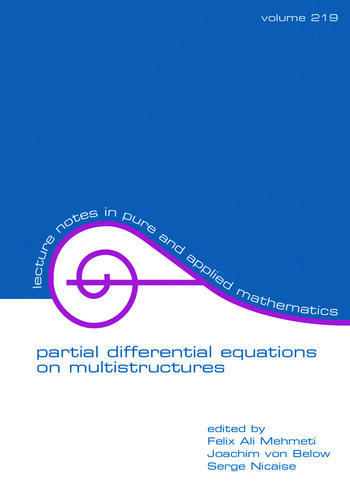 Partial Differential Equations On Multistructures book cover