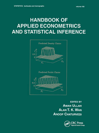 Handbook Of Applied Econometrics And Statistical Inference book cover