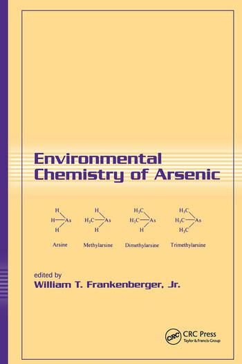 Environmental Chemistry of Arsenic book cover