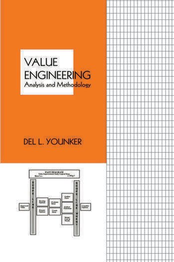 Value Engineering Analysis And Methodology book cover