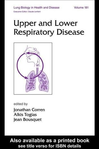 Upper and Lower Respiratory Disease book cover