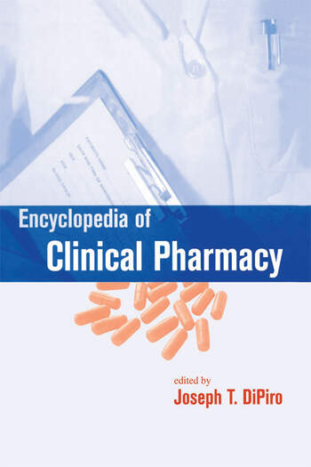 Encyclopedia of clinical pharmacy print crc press book encyclopedia of clinical pharmacy print fandeluxe Gallery