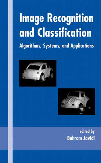 Image Recognition and Classification Algorithms, Systems, and Applications book cover