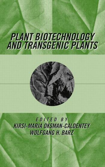 Plant Biotechnology and Transgenic Plants book cover