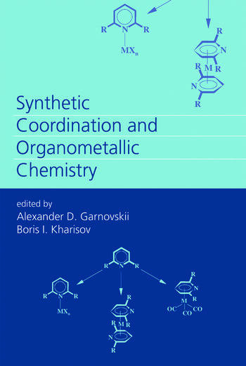 Synthetic Coordination and Organometallic Chemistry book cover