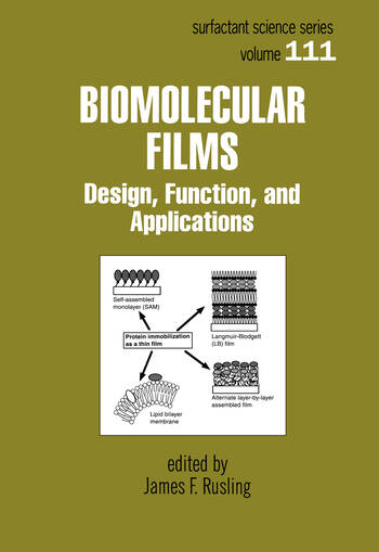 Biomolecular Films Design, Function, and Applications book cover