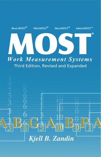 MOST Work Measurement Systems book cover