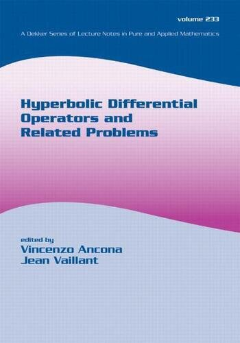 Hyperbolic Differential Operators And Related Problems book cover