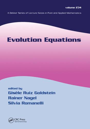 Evolution Equations book cover