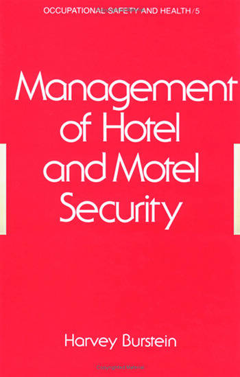 Management of Hotel and Motel Security book cover