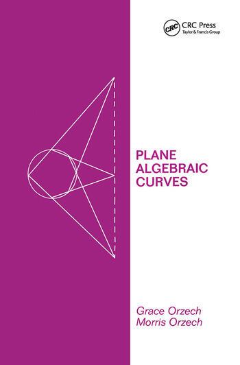Plane Algebraic Curves book cover