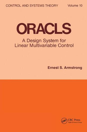 Oracls a Design System for Linear Multivariable Control book cover