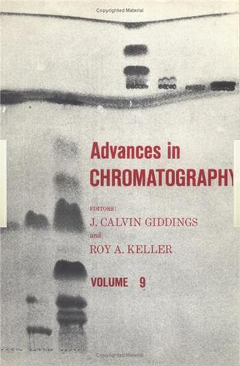 Advances in Chromatography Volume 8 book cover