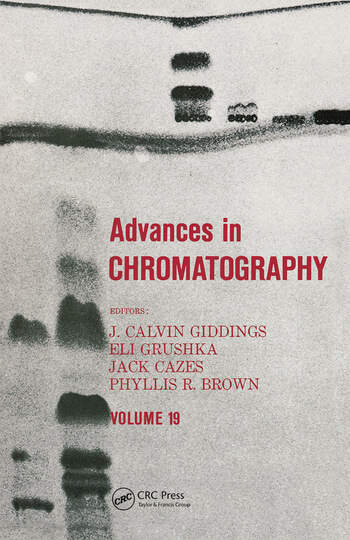 Advances in Chromatography Volume 19 book cover
