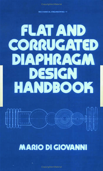 Flat and Corrugated Diaphragm Design Handbook book cover