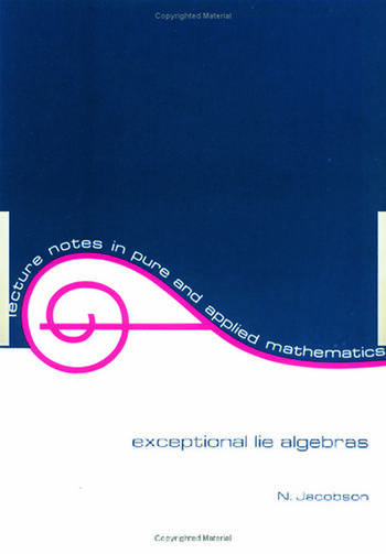 Exceptional Lie Algebras book cover