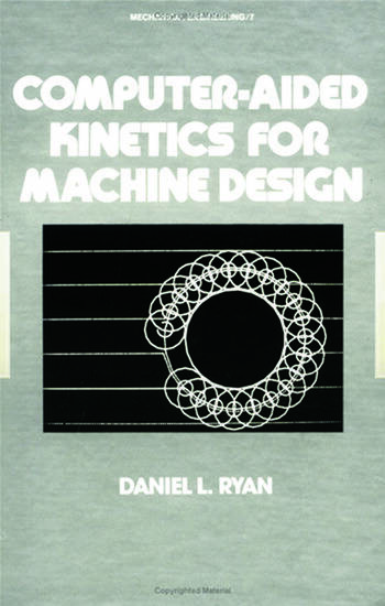 computeraided kinetics for machine design crc press book
