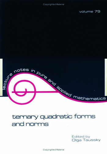 Ternary Quadratic Forms and Norms book cover