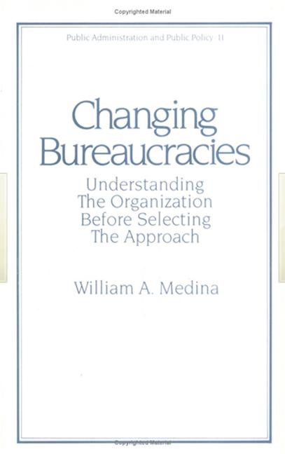 Changing Bureaucracies book cover