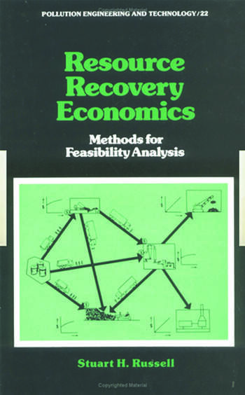 Resource Recovery Economics Methods for Feasibility Analysis book cover