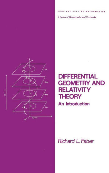 Differential Geometry and Relativity Theory An Introduction book cover