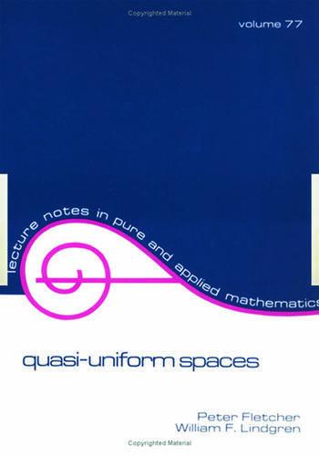 Quasi-Uniform SPates book cover