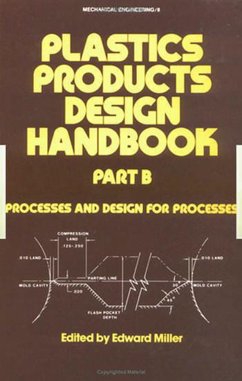 Plastics Products Design Handbook book cover