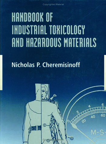 Handbook of Industrial Toxicology and Hazardous Materials book cover