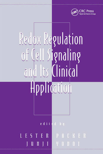Redox Regulation of Cell Signaling and Its Clinical Application book cover