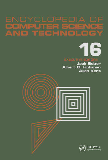 Encyclopedia of Computer Science and Technology Volume 16 - Index book cover