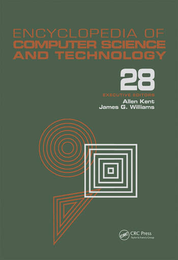 Encyclopedia of Computer Science and Technology Volume 28 - Supplement 13: AerosPate Applications of Artificial Intelligence to Tree Structures book cover