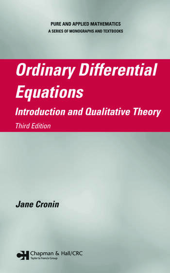 Ordinary differential equations introduction and qualitative theory ordinary differential equations introduction and qualitative theory third edition fandeluxe Images