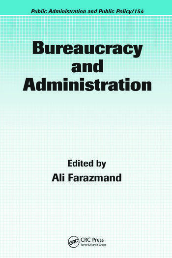Bureaucracy and Administration book cover