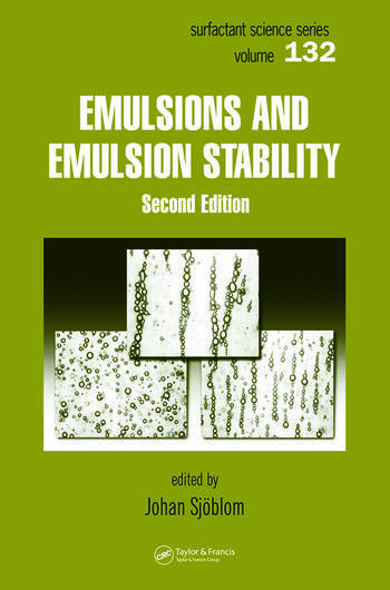 Emulsions and Emulsion Stability Surfactant Science Series/61 book cover