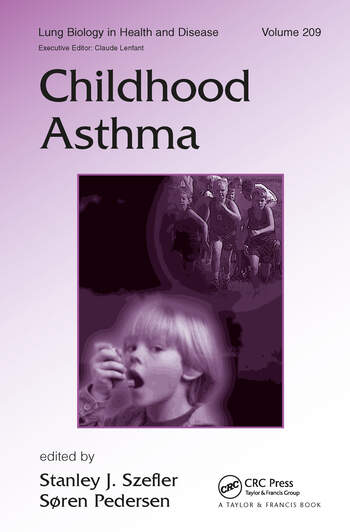 Childhood Asthma book cover