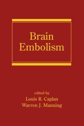 Brain Embolism book cover