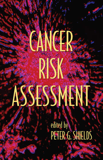 Cancer Risk Assessment book cover