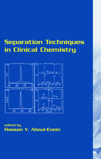 Separation Techniques in Clinical Chemistry book cover