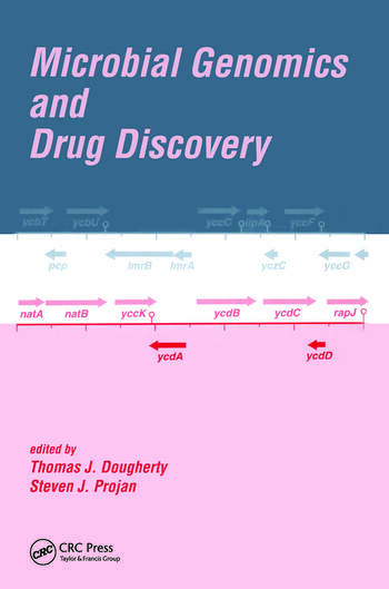 Microbial Genomics and Drug Discovery book cover