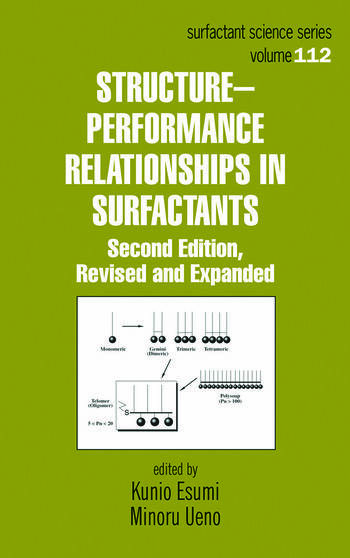 Structure-Performance Relationships in Surfactants book cover