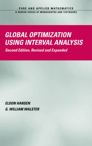 Global Optimization Using Interval Analysis Revised And Expanded book cover